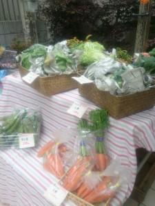 マルシェ、BASE、野菜、にんじん